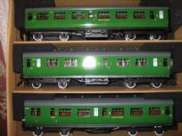 Mainline Corridor Coaches SR & BR Bulleid